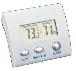 Temperature and humidity display - Click Image to Close